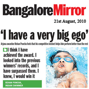 Bangalore Mirror - I have a very big ego