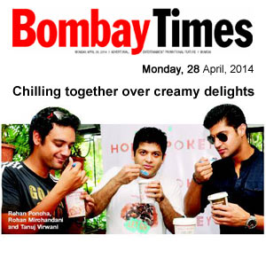 Chilling together over creamy delights - Bombay Times