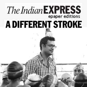 Indian Express - A Different Stroke