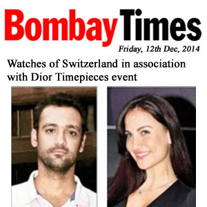Watches of Switzerland in association with Dior Timepieces event