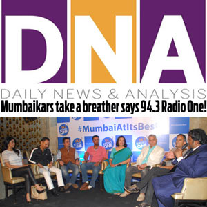 Mumbaikars Take A Breather, Says 94.3 Radio One!