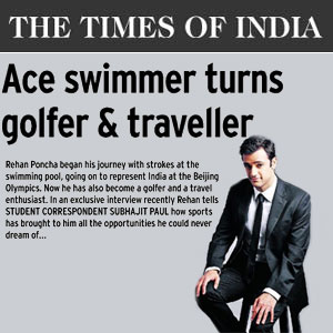 Ace Swimmer Turns Golfer And Traveller