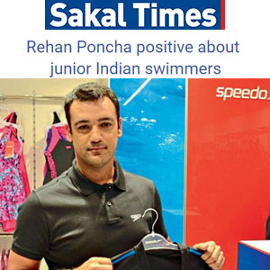 Rehan Poncha positive about junior Indian swimmers